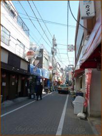 20130222 商店街 飯田橋まで