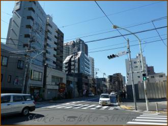 20130222 筑土八幡町 飯田橋まで