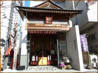20130222 入り口地蔵 飯田橋まで