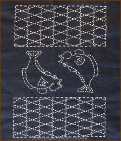 20130225 中央模様 網と魚