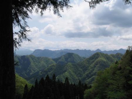 群馬の山々