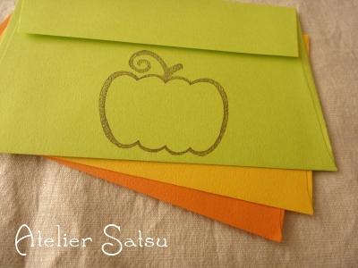 ハロウィン封筒☆☆
