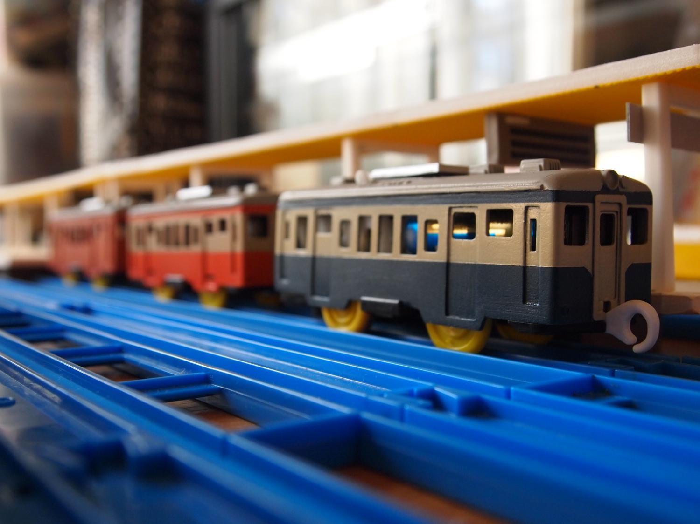 キハ52と駅