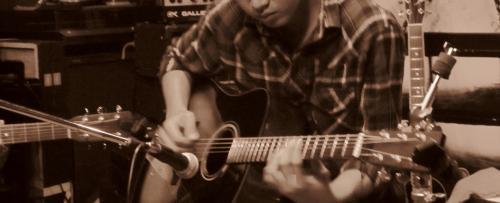 天才ギターリスト♪