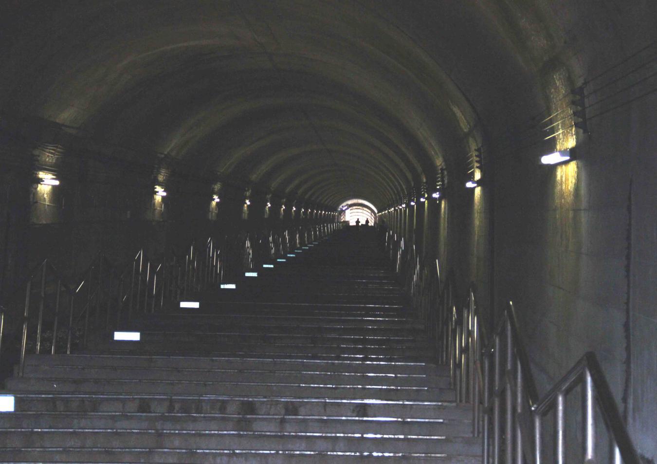谷川雪中訓練(4) タイムトンネル