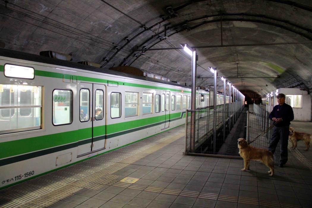 谷川雪中訓練(7) タイムトンネル