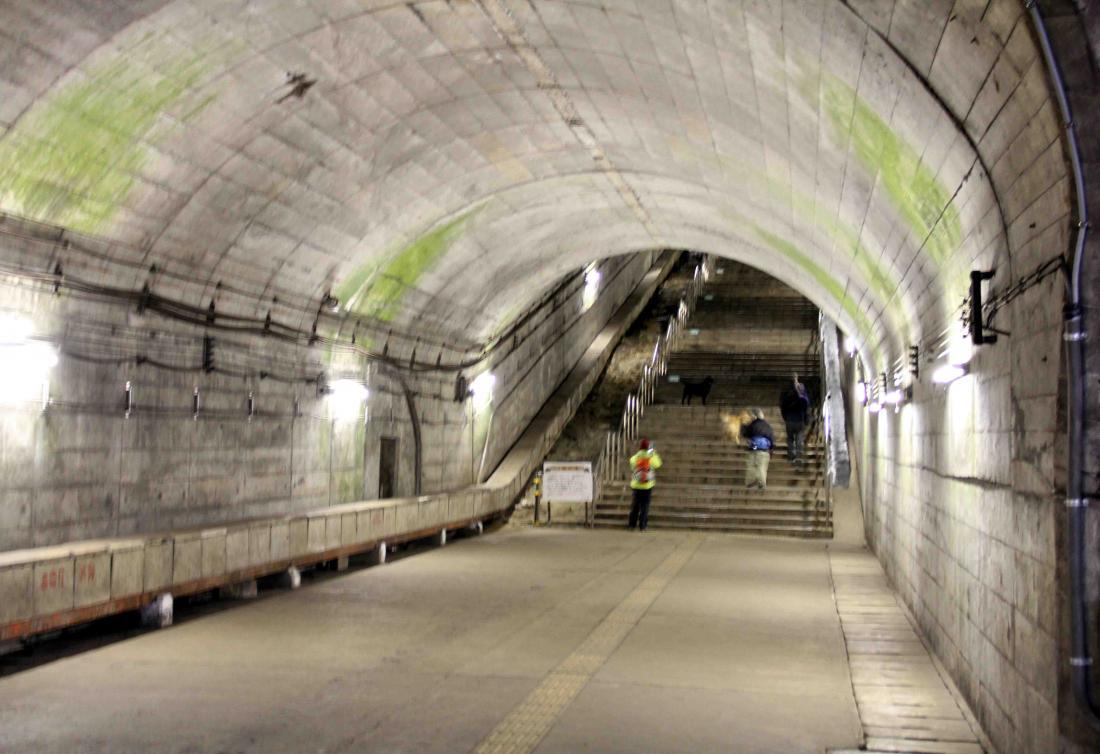 谷川雪中訓練(8) タイムトンネル