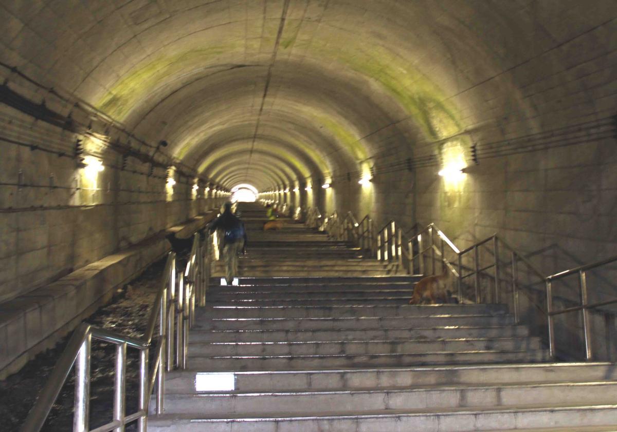 谷川雪中訓練(10) タイムトンネル