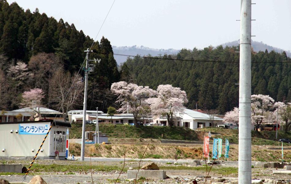 慰霊と献花の旅 捜索施設(1)