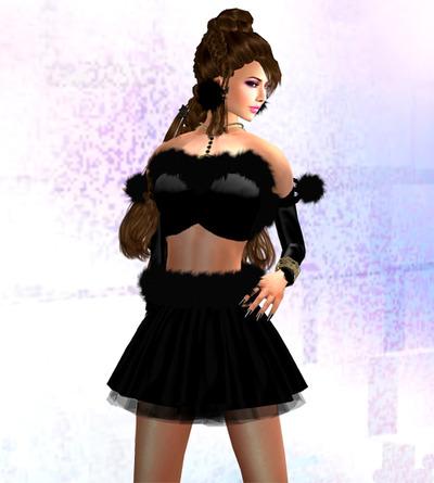 2010X'masのブラック衣装