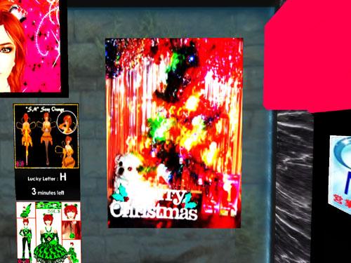 クリスマス壁掛け