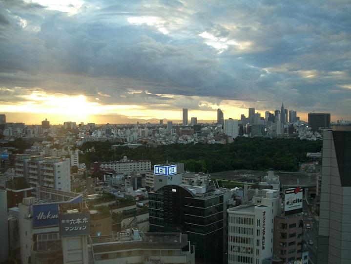 東京の夕焼け1