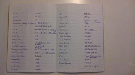 日商ビジネス英検2級ノート