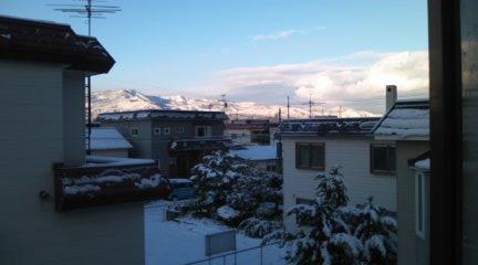 20101027雪景色