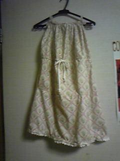 旦那作・春色2wayスカート。ワンピとしても着れます!