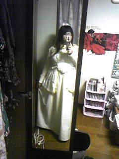 旦那作・嫁コップレ衣装着用例。明らかにセレクト間違えた気分(嫁いわく