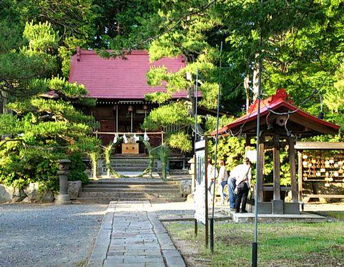 上山城10月岡神社