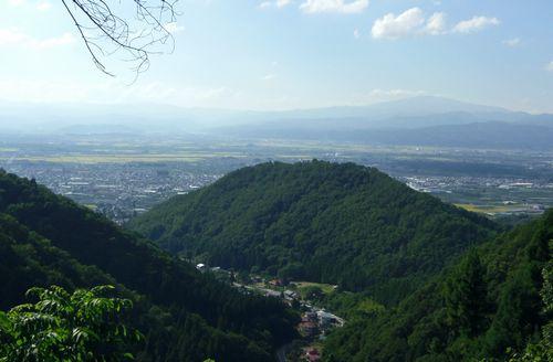 若松寺16月山眺望