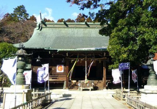 青葉神社12拝殿