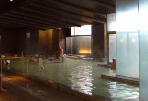 名湯の宿鳴子ホテル9芭蕉の湯大浴場