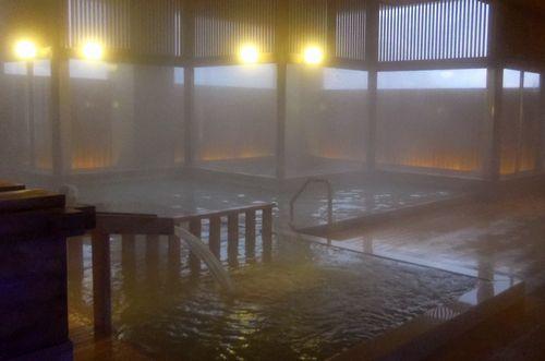 名湯の宿鳴子ホテル12玉の湯大浴場