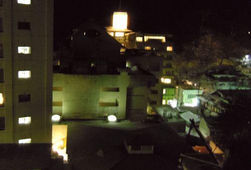 名湯の宿鳴子ホテル20夜景