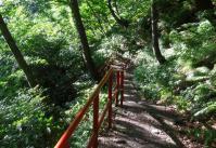 国道48号関山峠23滝つぼ降り口