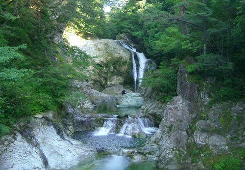 国道48号関山峠25大滝