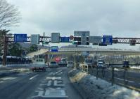 山形道笹谷峠2013冬2国道48号仙台西道路