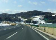 山形道笹谷峠2013冬4東北道菅生付近