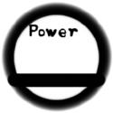 パワー表示円