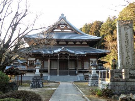 稲田山西念寺本堂
