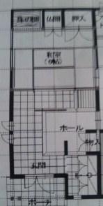 和室前土間図