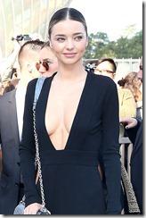 Miranda Kerr and Selena Gomez arriving at Vuitton Show, Paris