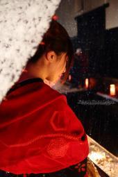 銀行ロビー展 ~飛騨古川 三寺まいり 2011写真撮影記 千本ロウソク、灯篭流し~02