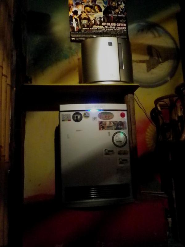 ファンヒーター&空気清浄機
