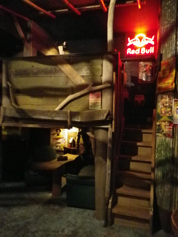 ロフト席階段