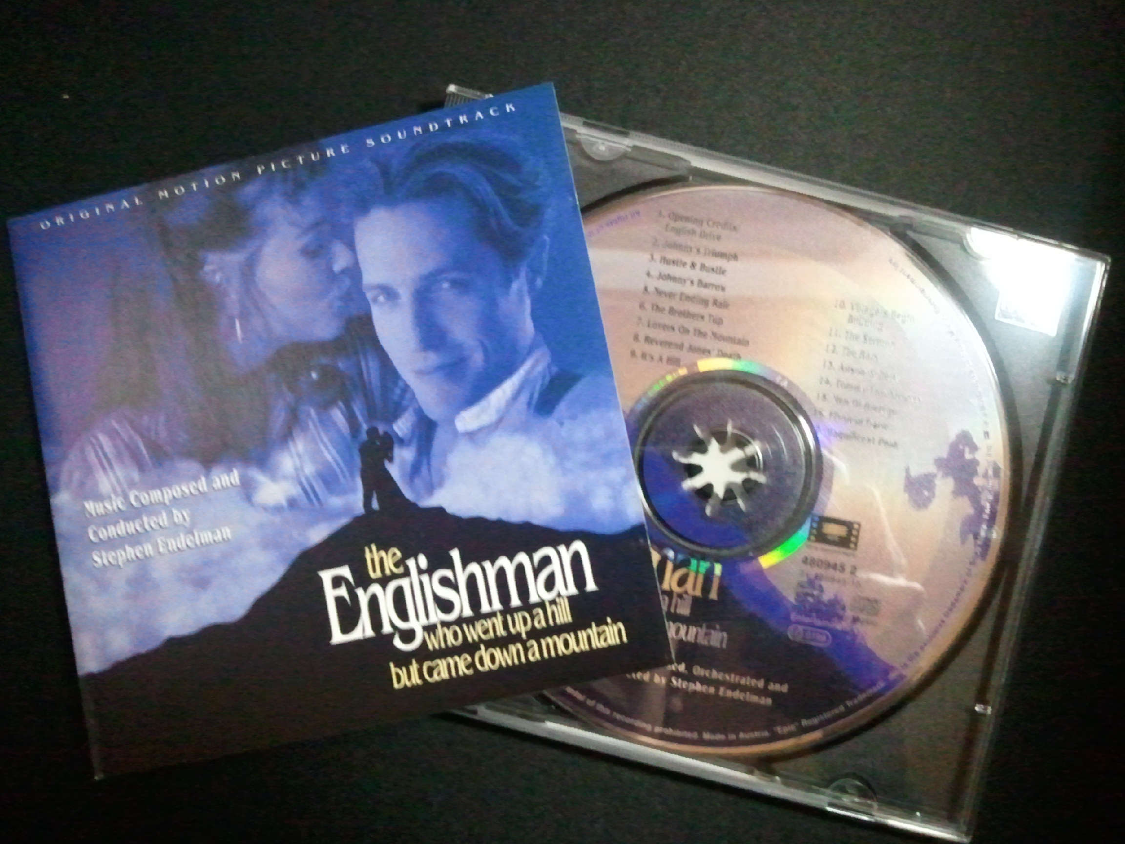 the Englishman who went up a hill but came down a mountain Original Motion Picture Soundtrack