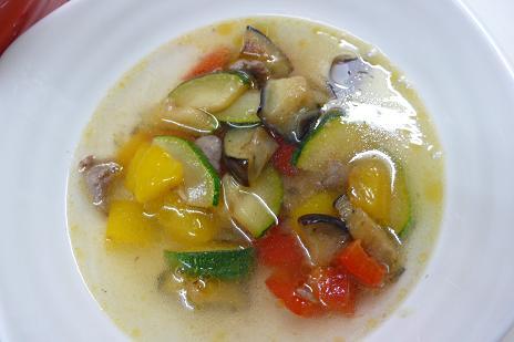 夏野菜スープ