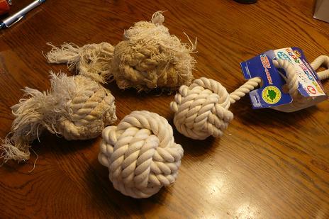ロープ&コットンボール