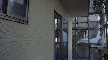 1階の外壁