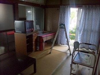かつての居間