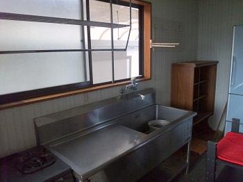 かつてのキッチン