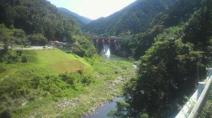 矢作川第二ダムです