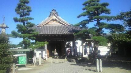21番札所常楽寺の大師堂です