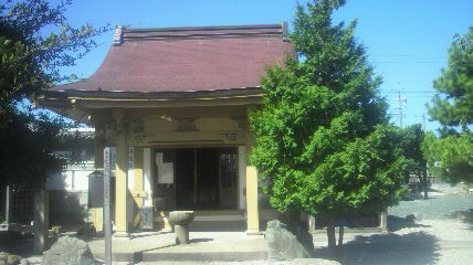 24番徳正寺の大師堂です
