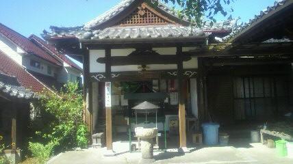 25番札所円観寺の大師堂です