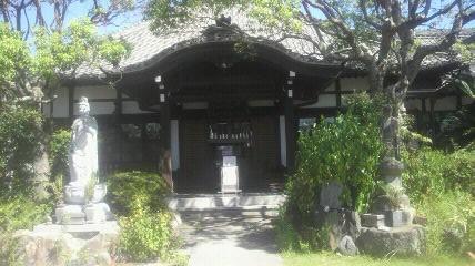 25番札所円観寺の本堂です