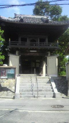 18番札所光照寺の山門です