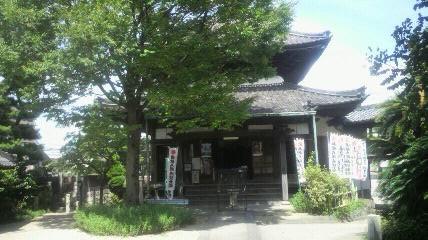 18番札所光照寺の大師堂です